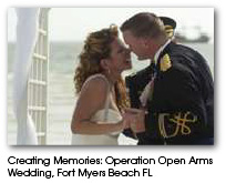 Operation Open Arms Wedding, Fort Myers Beach FL