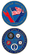 Operation Open Arms Coin